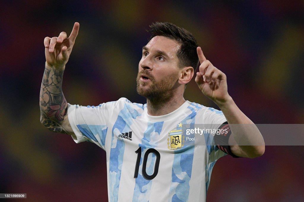 Argentina v Chile - FIFA World Cup 2022 Qatar Qualifier : News Photo