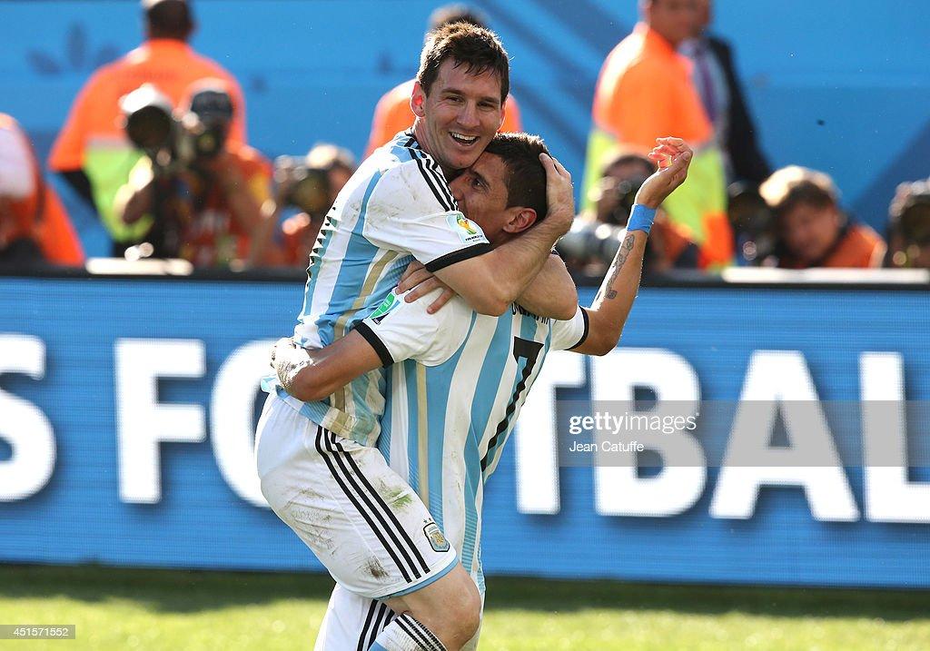 Argentina v Switzerland: Round of 16 - 2014 FIFA World Cup Brazil : News Photo