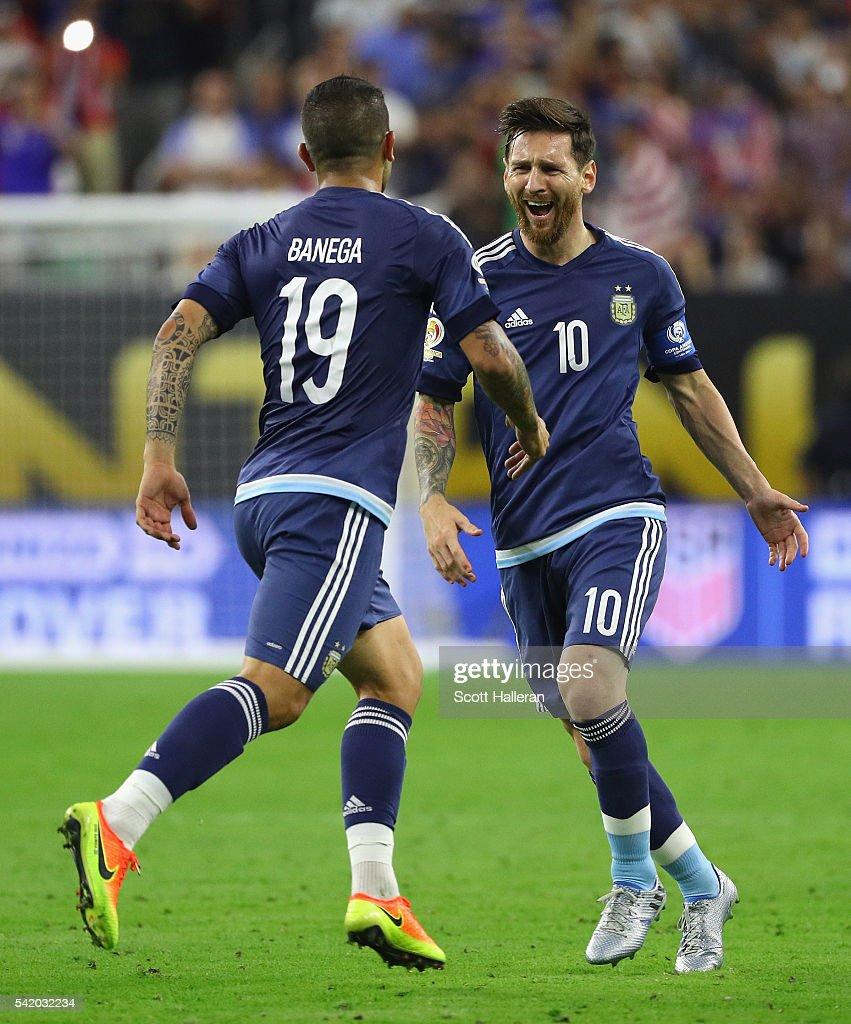 United States v Argentina: Semifinal - Copa America Centenario : Fotografía de noticias
