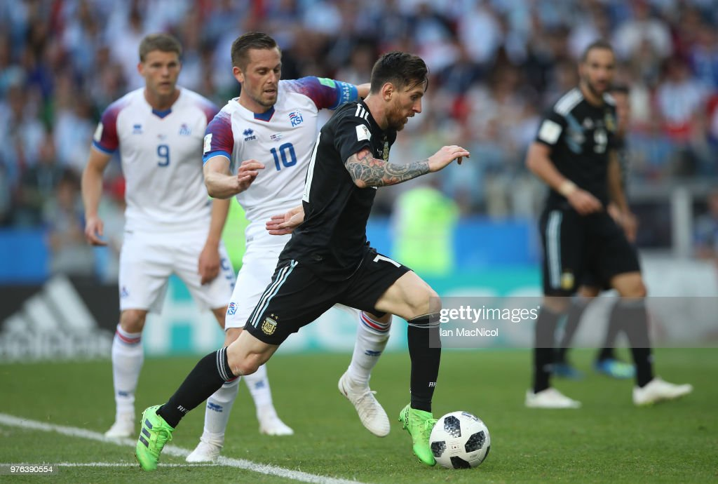 Argentina v Iceland: Group D - 2018 FIFA World Cup Russia : News Photo