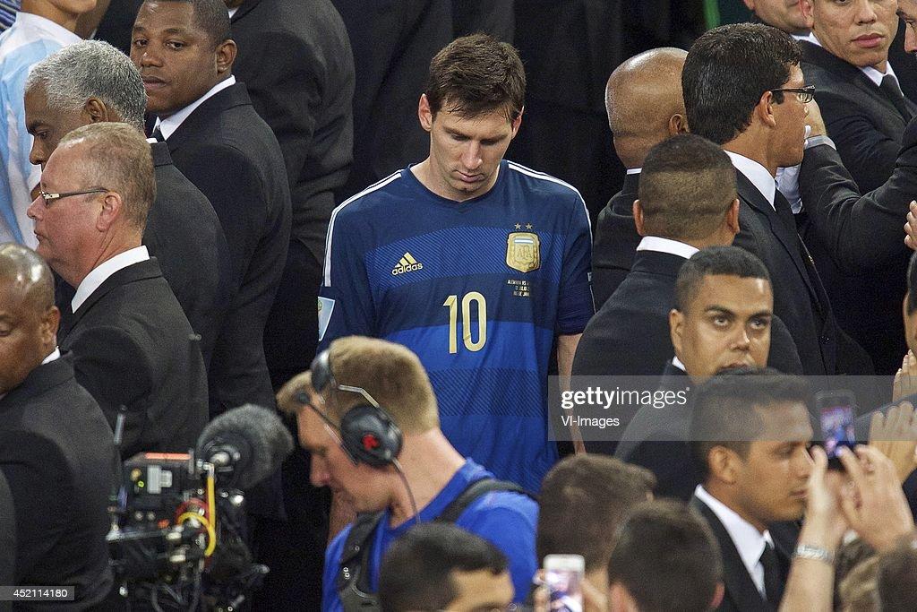 """FIFA World Cup final - """"Germany v Argentina"""" : Fotografía de noticias"""