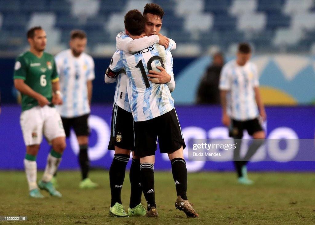 Bolivia v Argentina: Group A - Copa America Brazil 2021 : News Photo