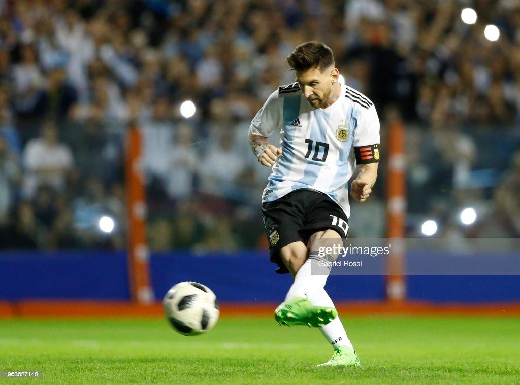 Argentina v Haiti - International Friendly : News Photo