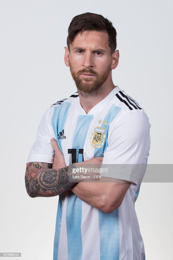 Argentina Portraits - 2018 FIFA World Cup Russia : News Photo