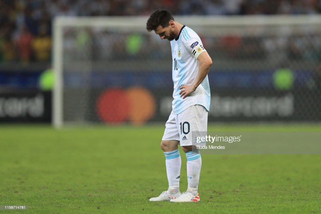 Brazil v Argentina: Semi Final - Copa America Brazil 2019 : News Photo