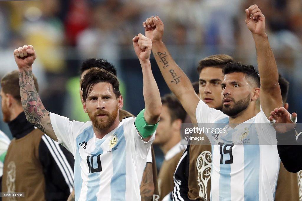 "FIFA World Cup 2018 Russia""Nigeria v Argentina"" : News Photo"