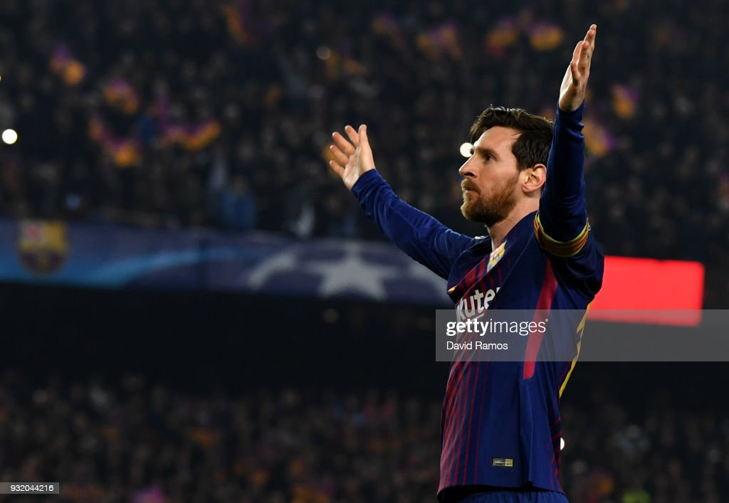 FC Barcelona v Chelsea FC - UEFA Champions League Round of 16: Second Leg : Foto jornalística