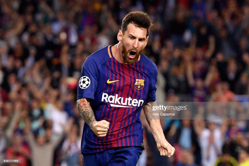 FC Barcelona v Juventus - UEFA Champions League : Foto jornalística