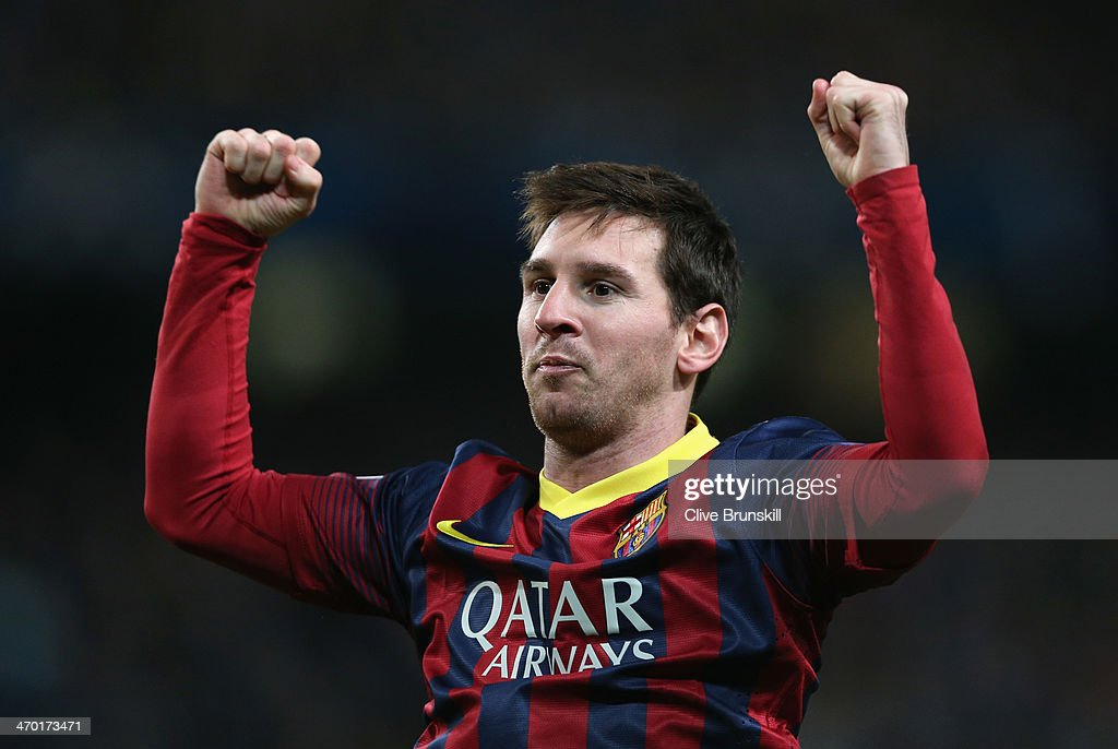 Manchester City v Barcelona - UEFA Champions League Round of 16 : News Photo