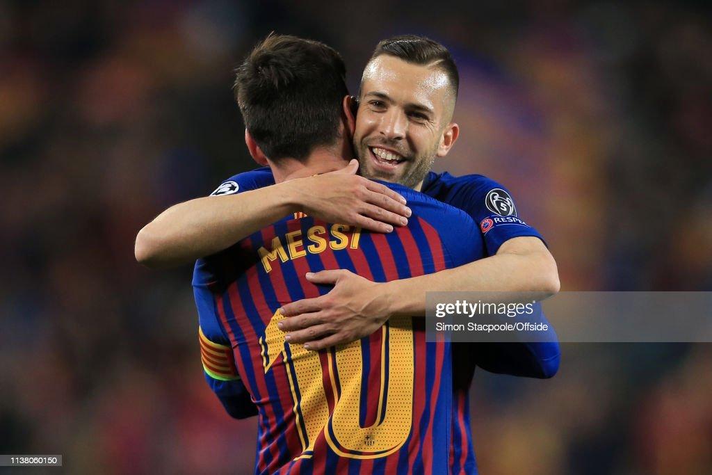 FC Barcelona v Manchester United - UEFA Champions League Quarter Final: Second Leg : ニュース写真