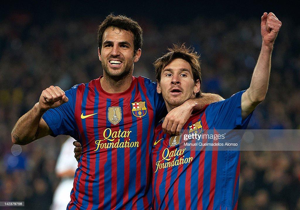 FC Barcelona v AC Milan - UEFA Champions League Quarter Final : News Photo