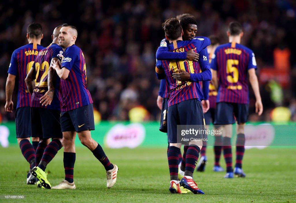 FC Barcelona v RC Celta de Vigo - La Liga : ニュース写真