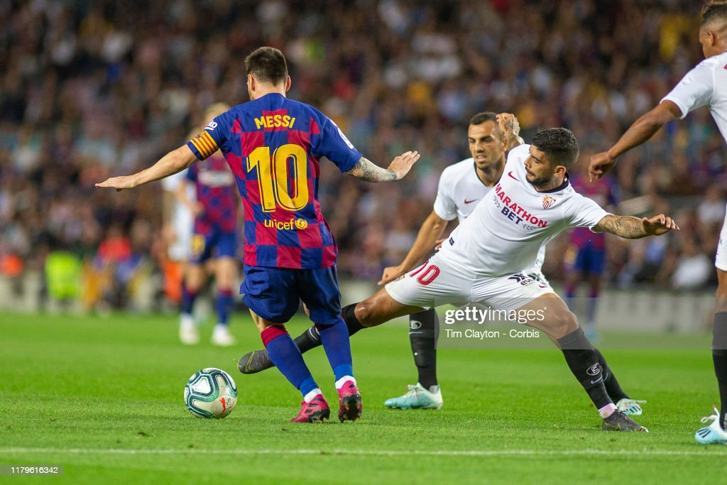 Barcelona V Sevilla, La Liga regular season. : Fotografía de noticias