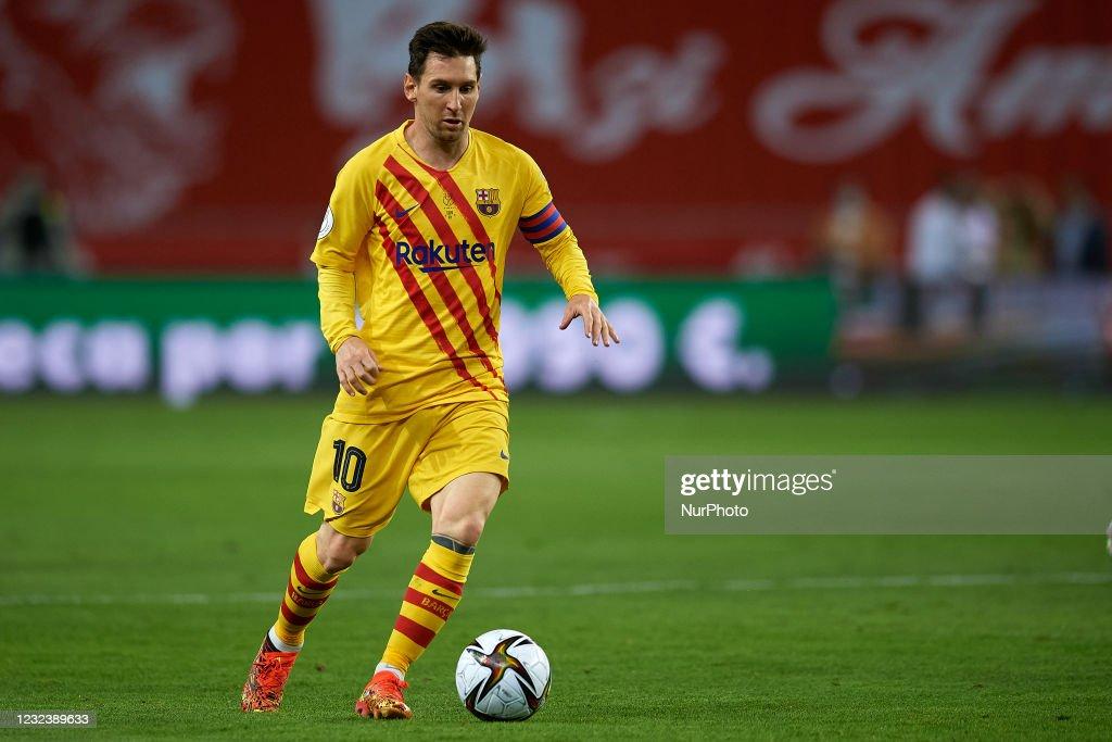 Athletic Club v FC Barcelona - Copa del Rey Final : News Photo