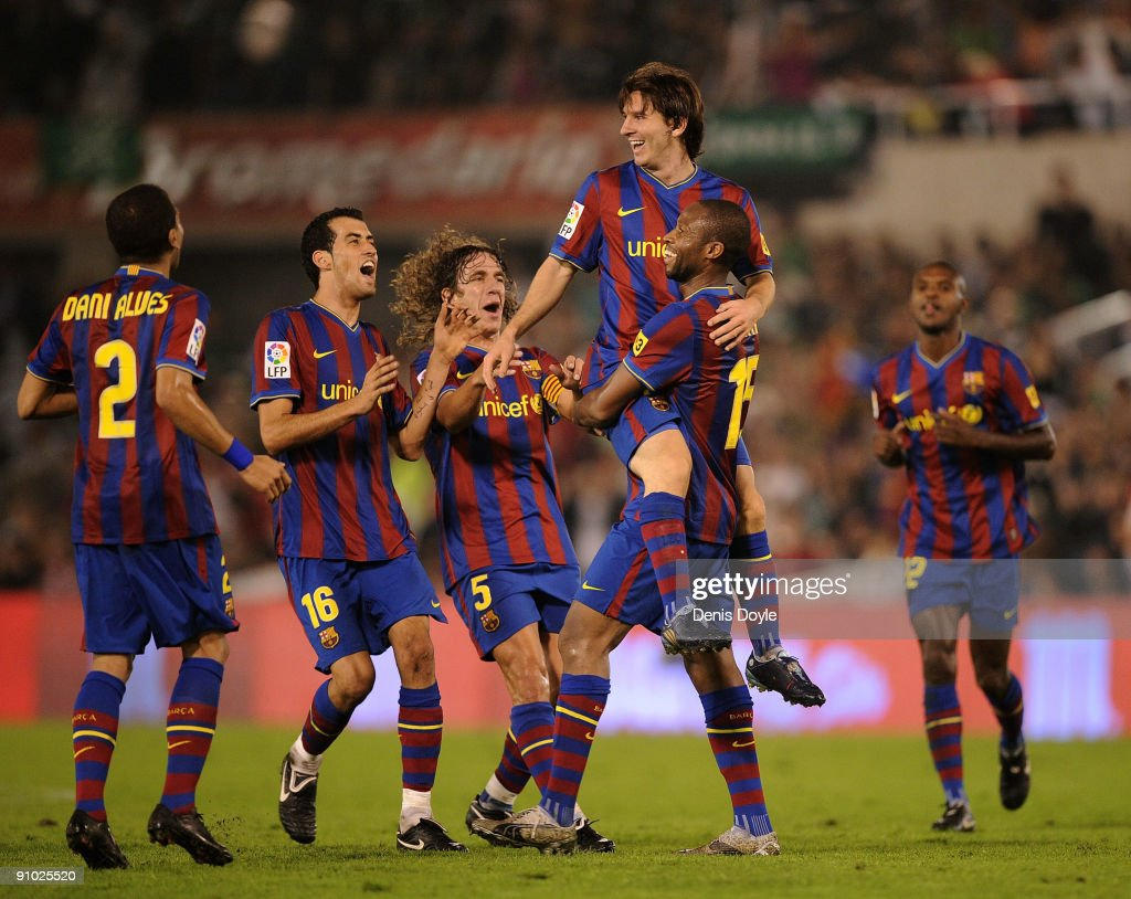 Racing Santander v Barcelona - La Liga