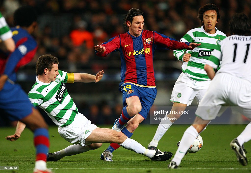 Barcelona v Celtic - UEFA Champions League : News Photo