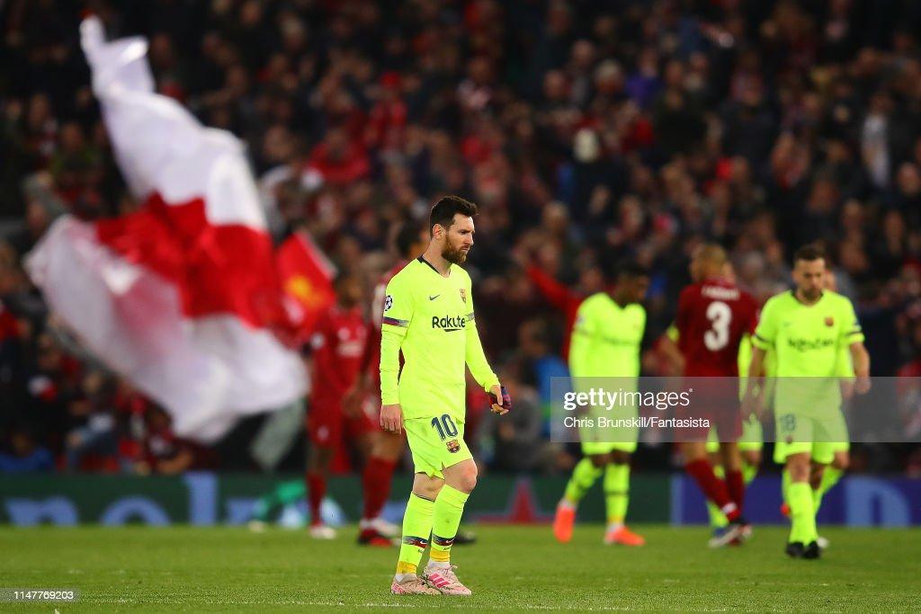 Liverpool v Barcelona - UEFA Champions League Semi Final: Second Leg : News Photo