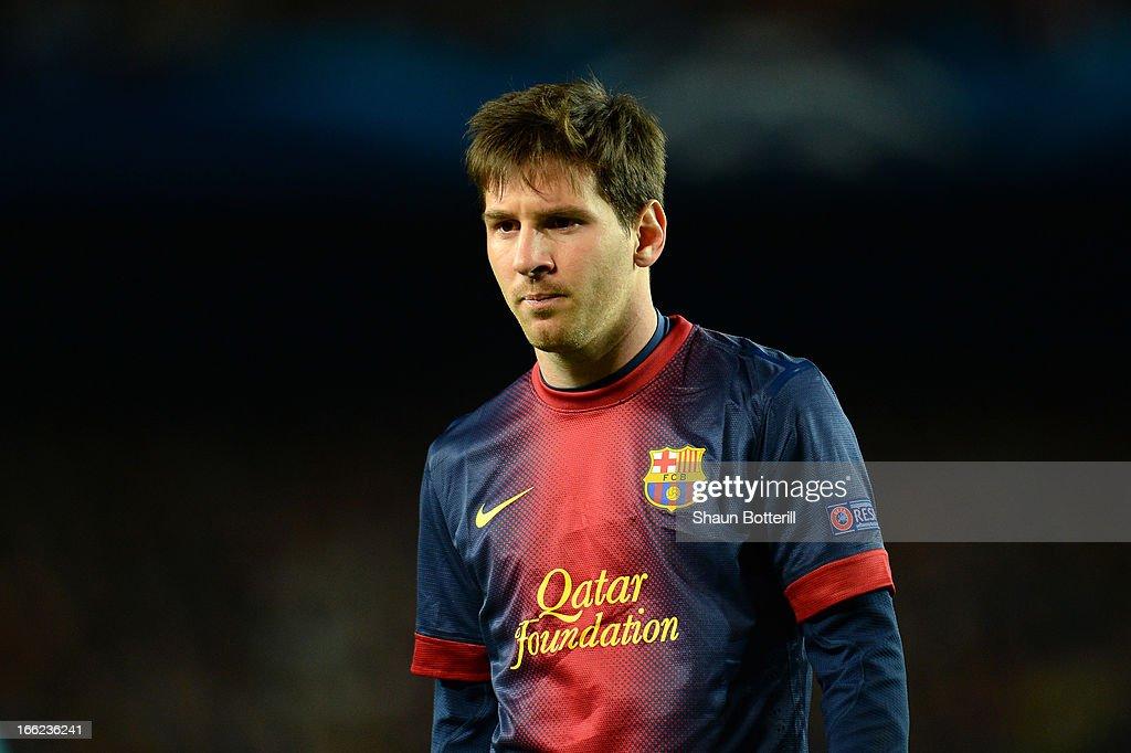 Barcelona v Paris St Germain - UEFA Champions League Quarter Final : News Photo