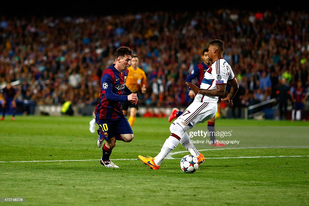 FC Barcelona v FC Bayern Muenchen - UEFA Champions League Semi Final : News Photo