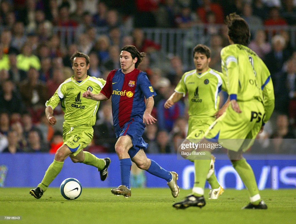Copa del Rey Semi Final - Barcelona v Getafe : News Photo