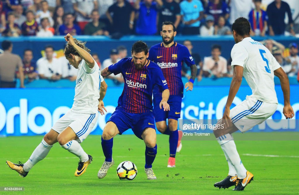 International Champions Cup 2017 - Real Madrid v FC Barcelona : News Photo