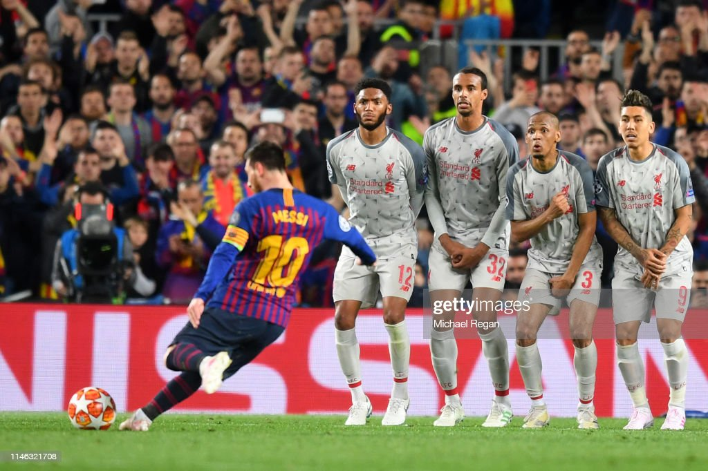Barcelona v Liverpool - UEFA Champions League Semi Final: First Leg : News Photo