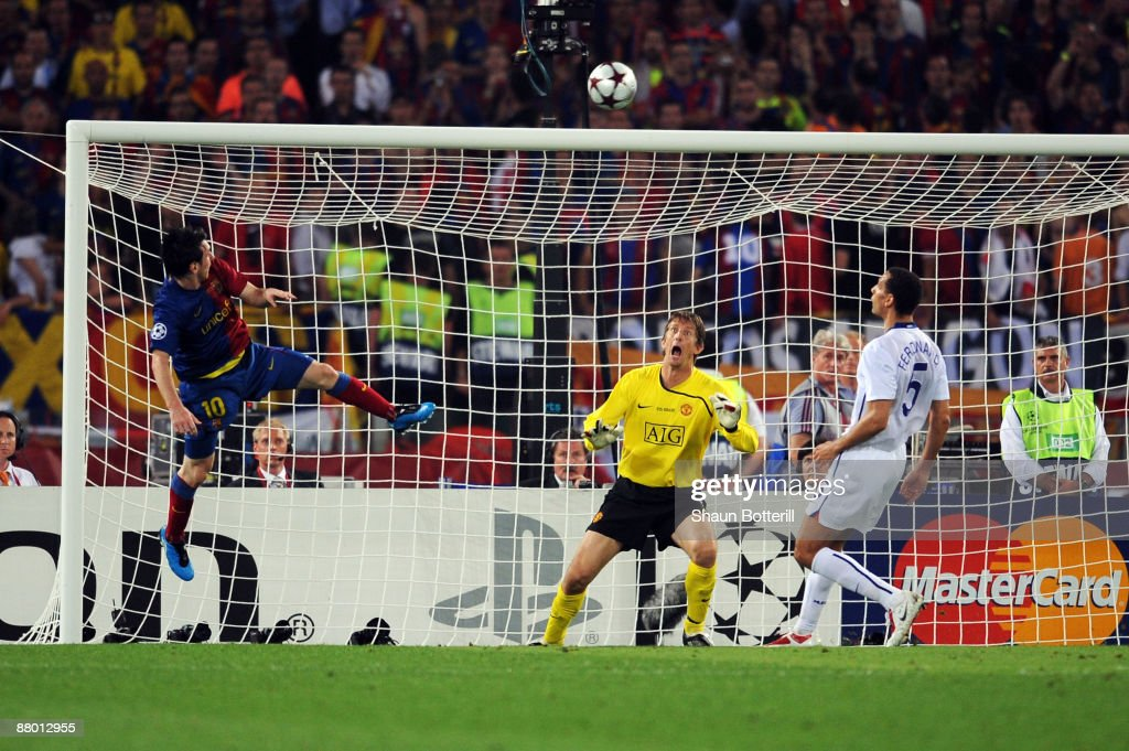 Barcelona v Manchester United - UEFA Champions League Final : News Photo