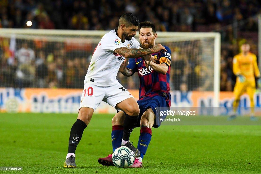 FC Barcelona v Sevilla FC - Liga : Fotografía de noticias