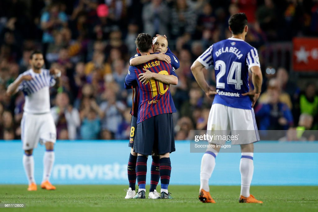 FC Barcelona v Real Sociedad - La Liga Santander : News Photo
