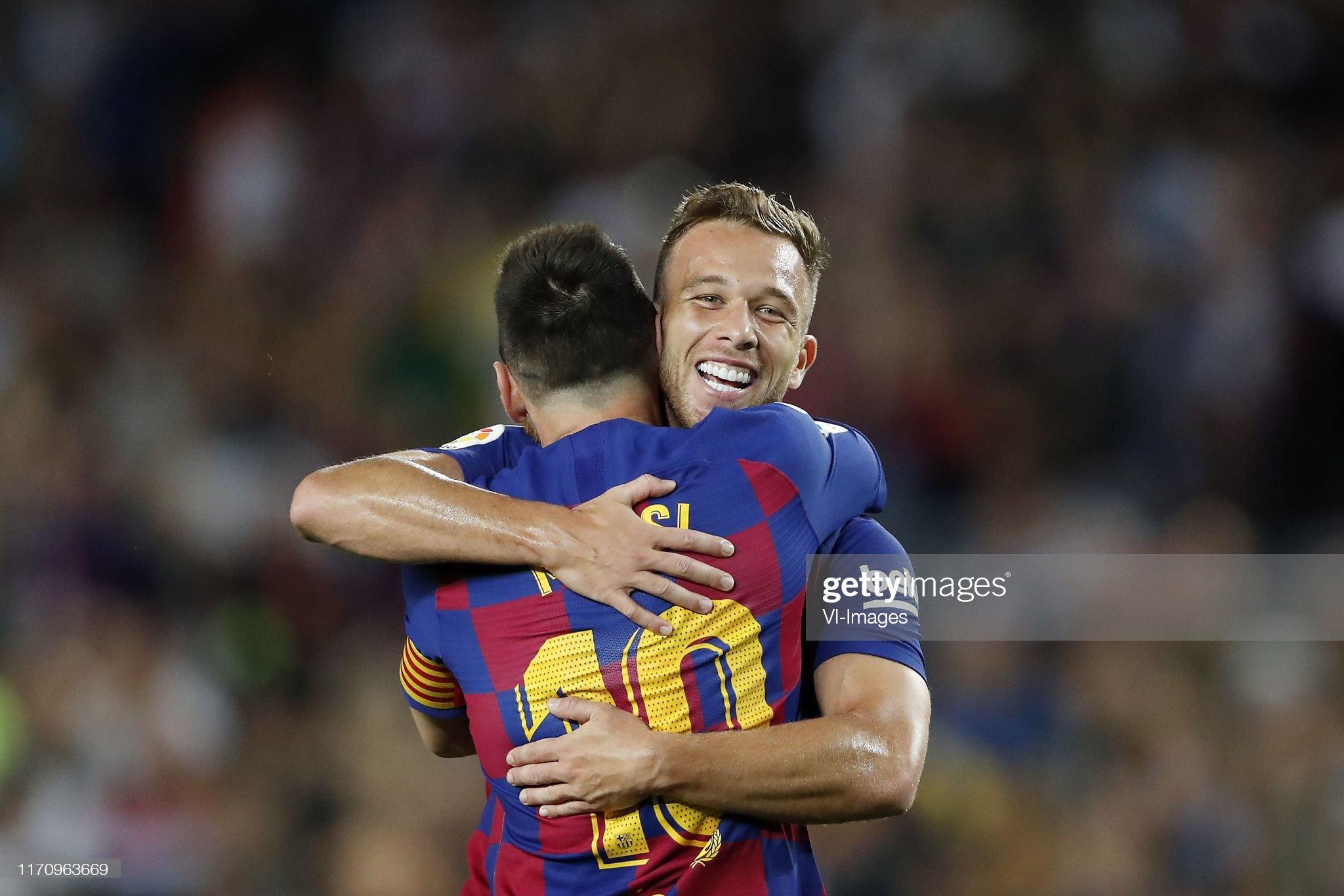 صور مباراة : برشلونة - فياريال 2-1 ( 24-09-2019 )  Lionel-messi-of-fc-barcelona-arthur-henrique-ramos-de-oliveira-melo-picture-id1170963669?s=2048x2048