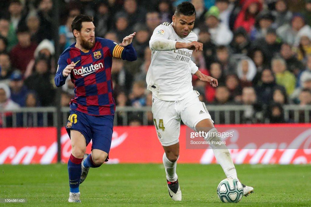 Real Madrid v FC Barcelona - La Liga Santander : News Photo