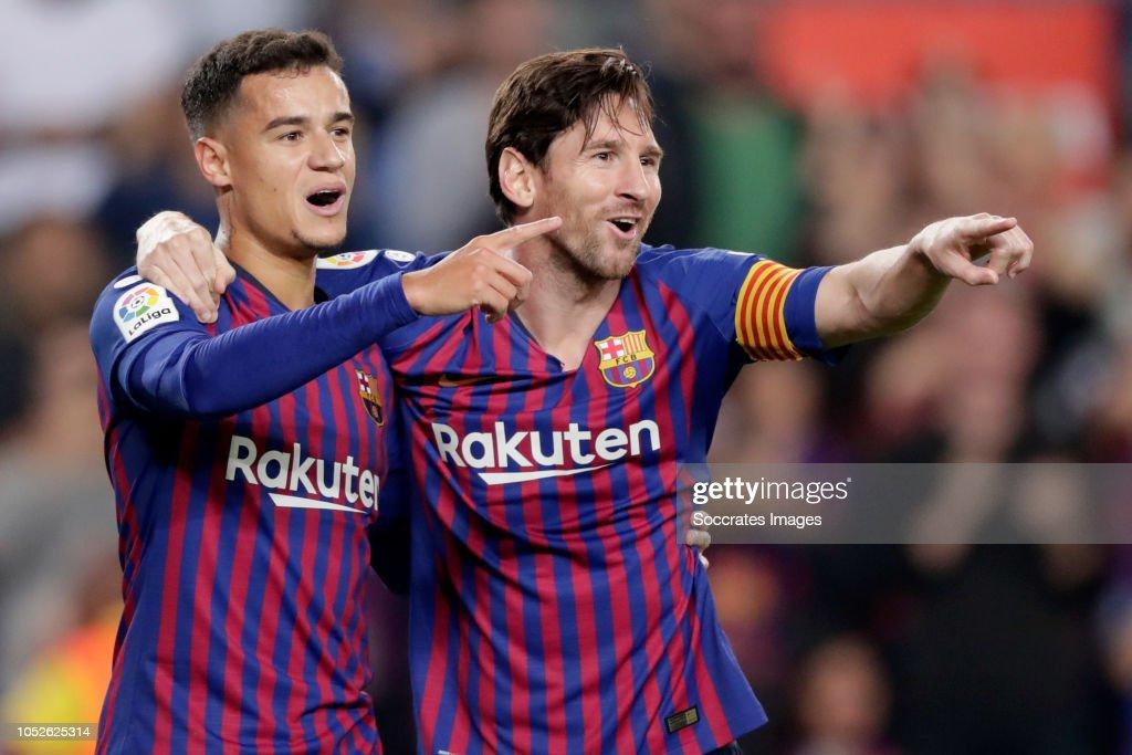 FC Barcelona v Sevilla - La Liga Santander : ニュース写真