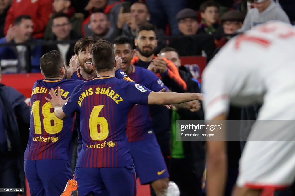 Sevilla v Barcelona - La Liga