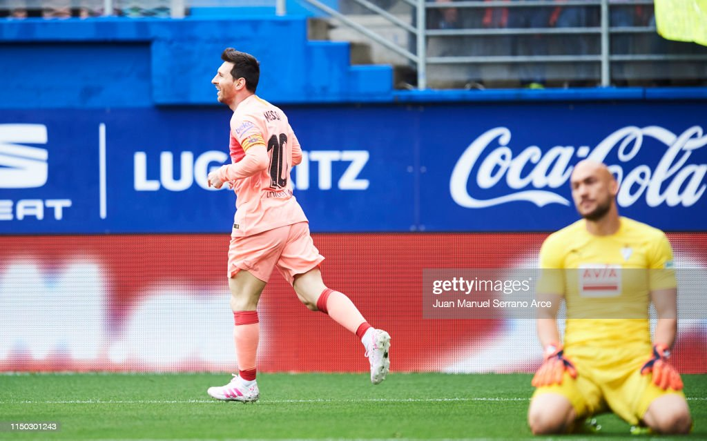 SD Eibar v FC Barcelona - La Liga : ニュース写真