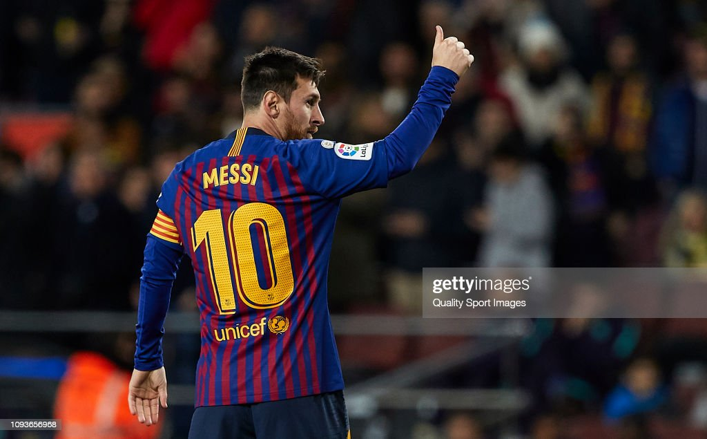 FC Barcelona v SD Eibar - La Liga : News Photo