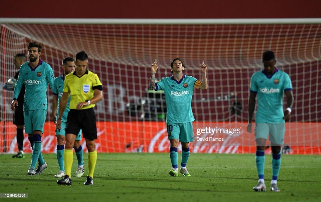 RCD Mallorca v FC Barcelona  - La Liga : News Photo