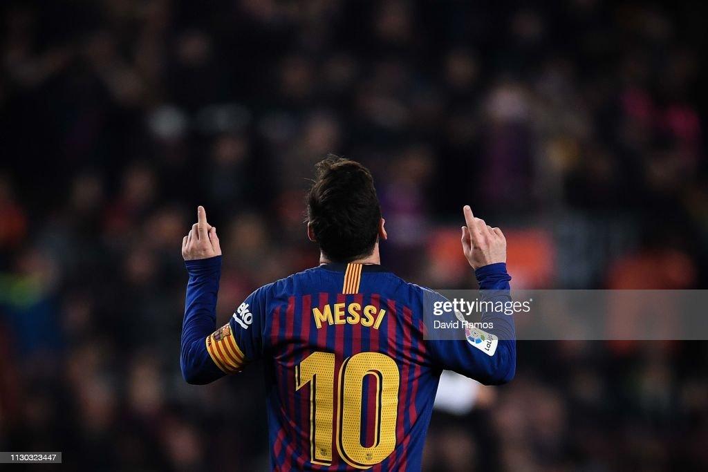 FC Barcelona v Real Valladolid CF - La Liga : Fotografía de noticias