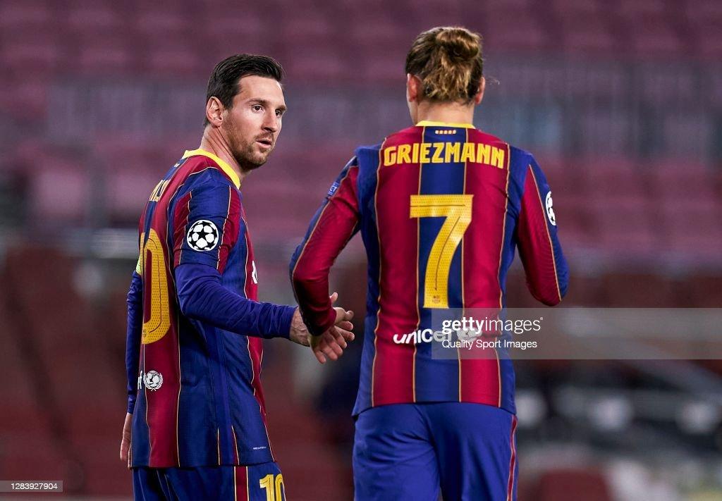 FC Barcelona v Dynamo Kyiv: Group G - UEFA Champions League : News Photo