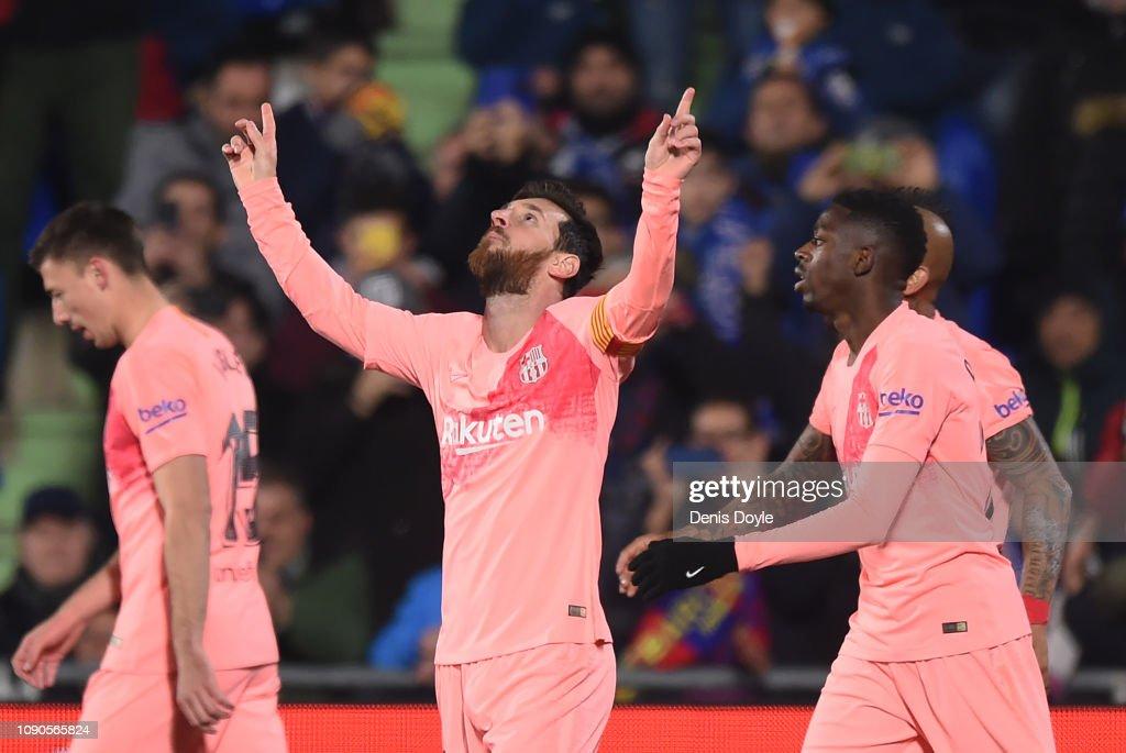 Getafe CF v FC Barcelona - La Liga : News Photo