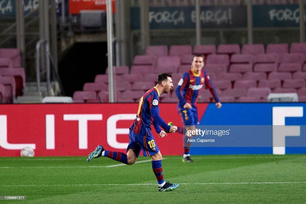 FC Barcelona v Athletic Club - La Liga Santander : News Photo