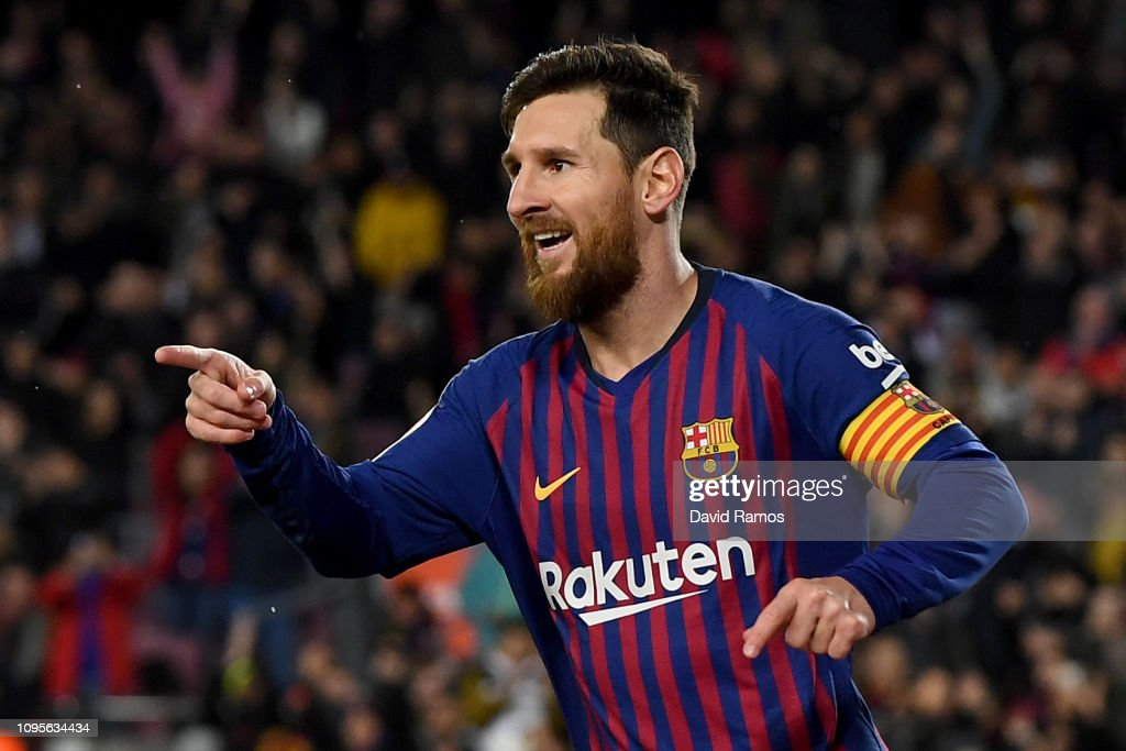 FC Barcelona v Levante - Copa del Rey Round of 16 : News Photo