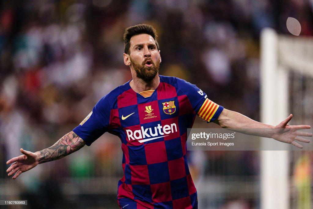 FC Barcelona v Club Atletico de Madrid - Supercopa de Espana: Semi Final : News Photo