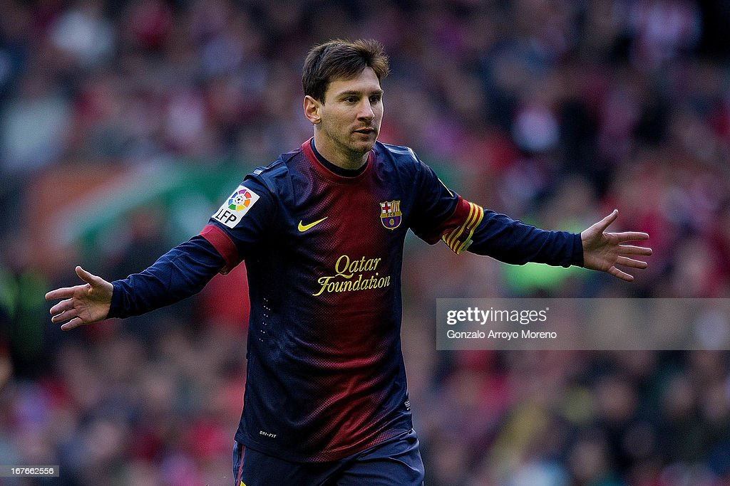 Athletic Club de Bilbao v FC Barcelona - La Liga : ニュース写真