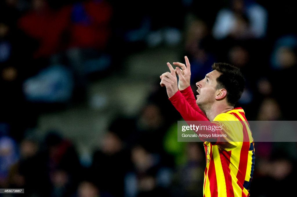 Getafe CF v FC Barcelona - Copa del Rey: Round of 8 : News Photo