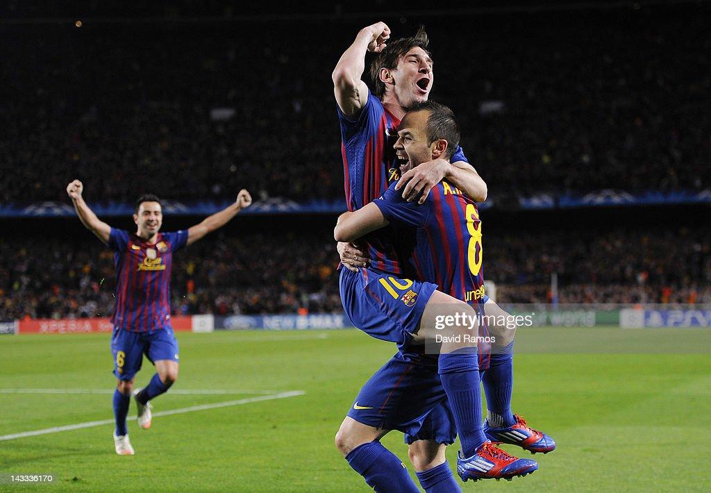 FC Barcelona v Chelsea CF - UEFA Champions League Semi Final : News Photo