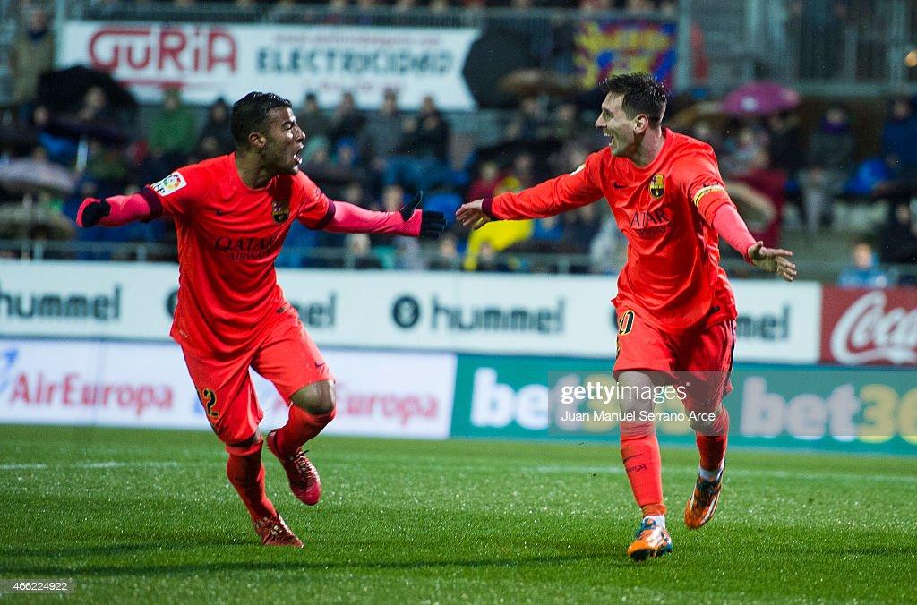 SD Eibar v FC Barcelona - La Liga : News Photo