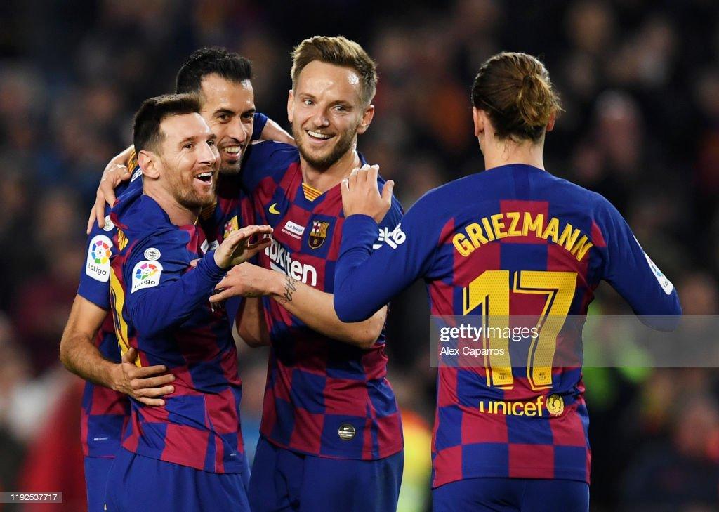 FC Barcelona v RCD Mallorca  - La Liga : News Photo