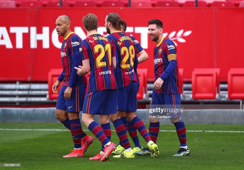 Sevilla FC v FC Barcelona - La Liga Santander : News Photo