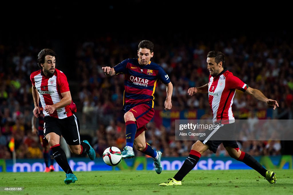 Barcelona v Athletic Club - Spanish Super Cup: Second Leg : News Photo