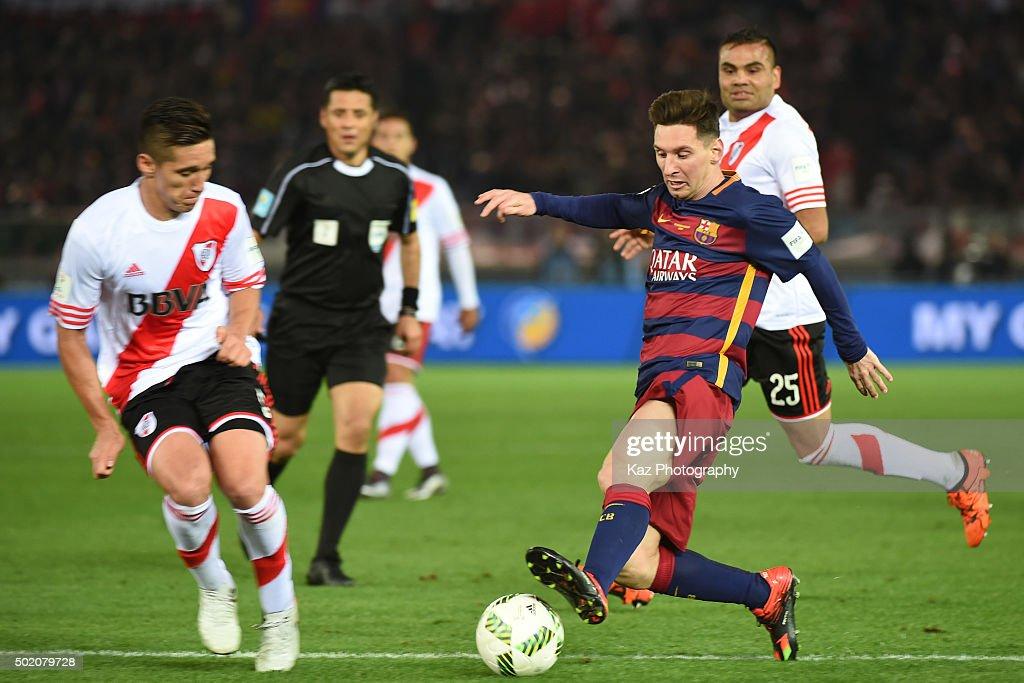 River Plate v FC Barcelona - FIFA Club World Cup Final : News Photo